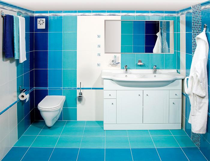 Вентилятор Вентс iFan в интерьере ванной комнаты