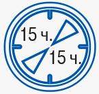 15 часовой интервал