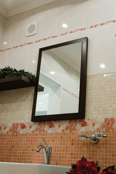 Пример установки вентилятора в ванной