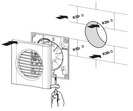 Инструкция по монтажу в стену