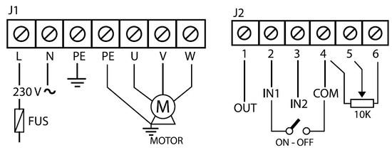 Управление потенциометром