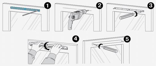 Как установить на пластиковое окно