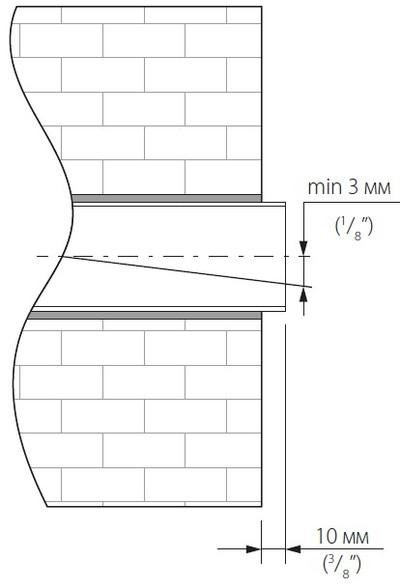 Шаг 1 вывод воздуховода