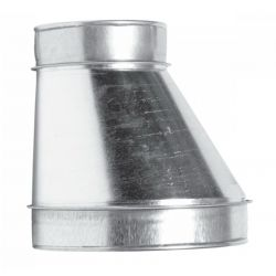 Переходник односторонний вентиляционный 200/125