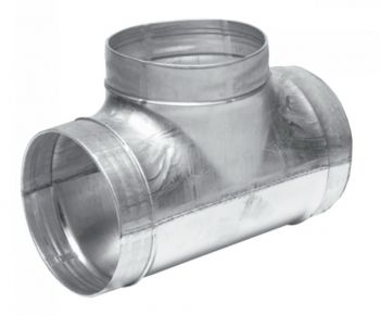 Тройник 125 для вентиляции