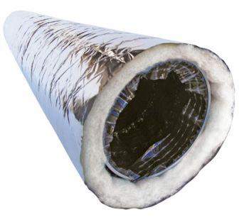 гибкий воздуховод 100 изолированный